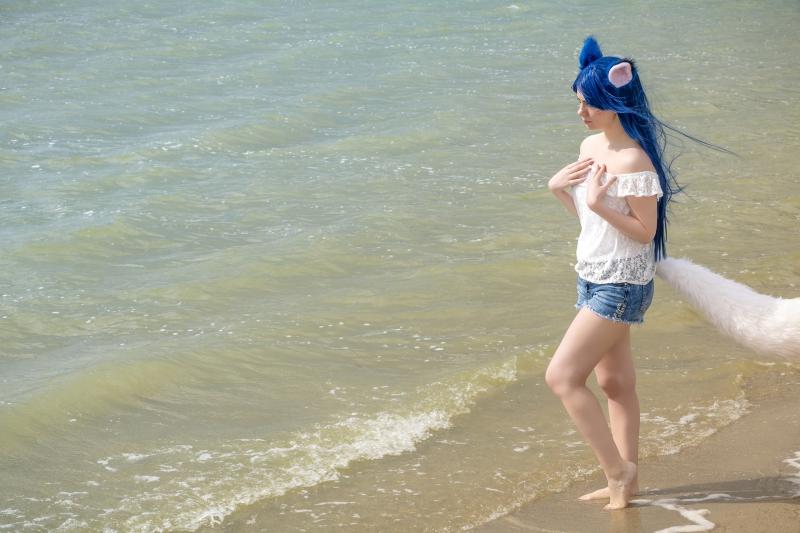 Beach Party Ahri
