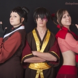 Ty Lee, Mai and Zuko
